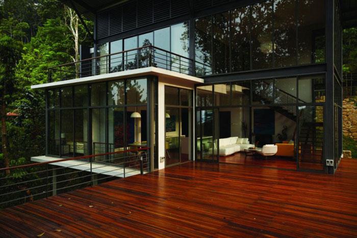 73517568632 Vackert däckhus i skogen designad av Choo Gim Wah Architect