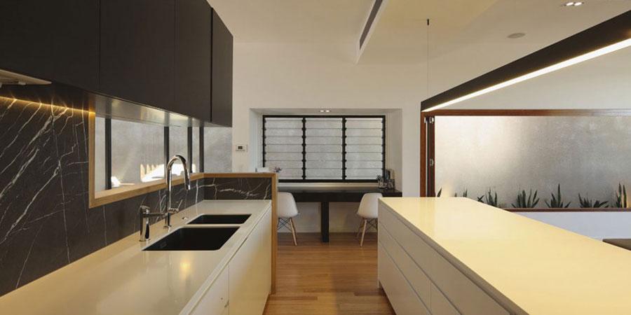 7 Modernt hem byggt med beundransvärt hantverk och omsorg