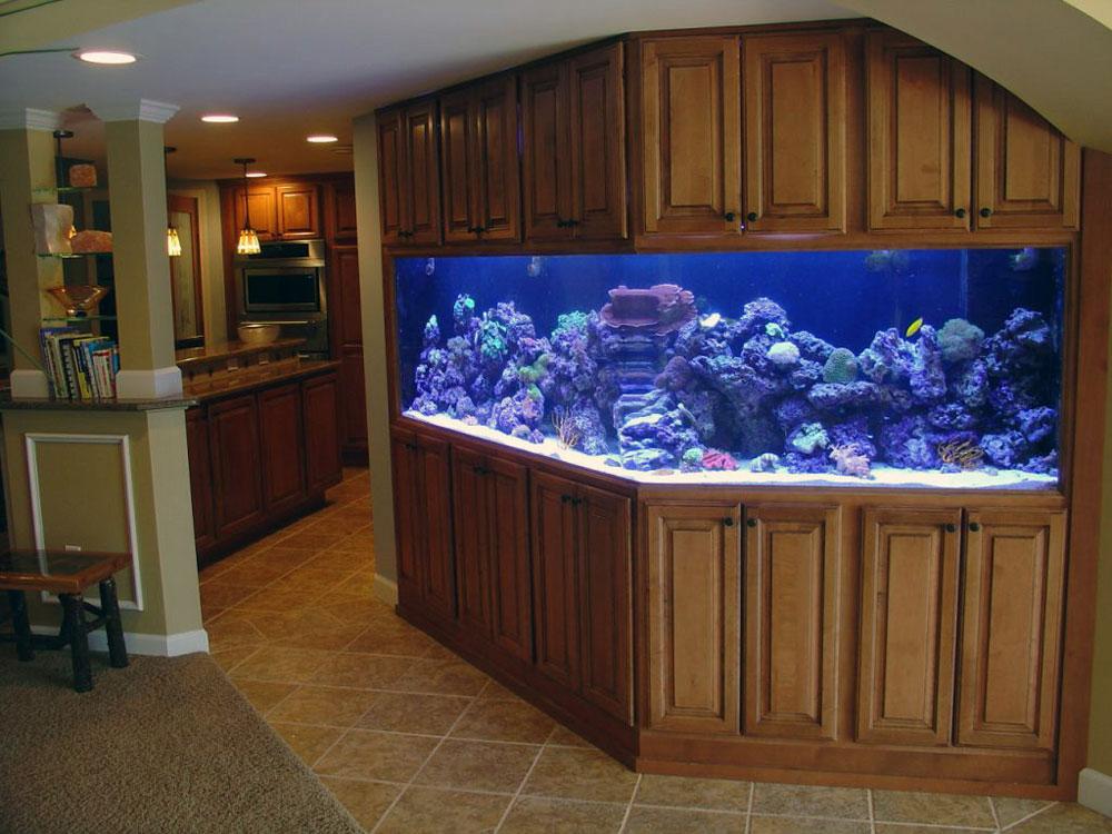 Ändra utseendet på ditt rum med denna akvarietank 11 Ändra utseendet på ditt rum med dessa akvarietankar