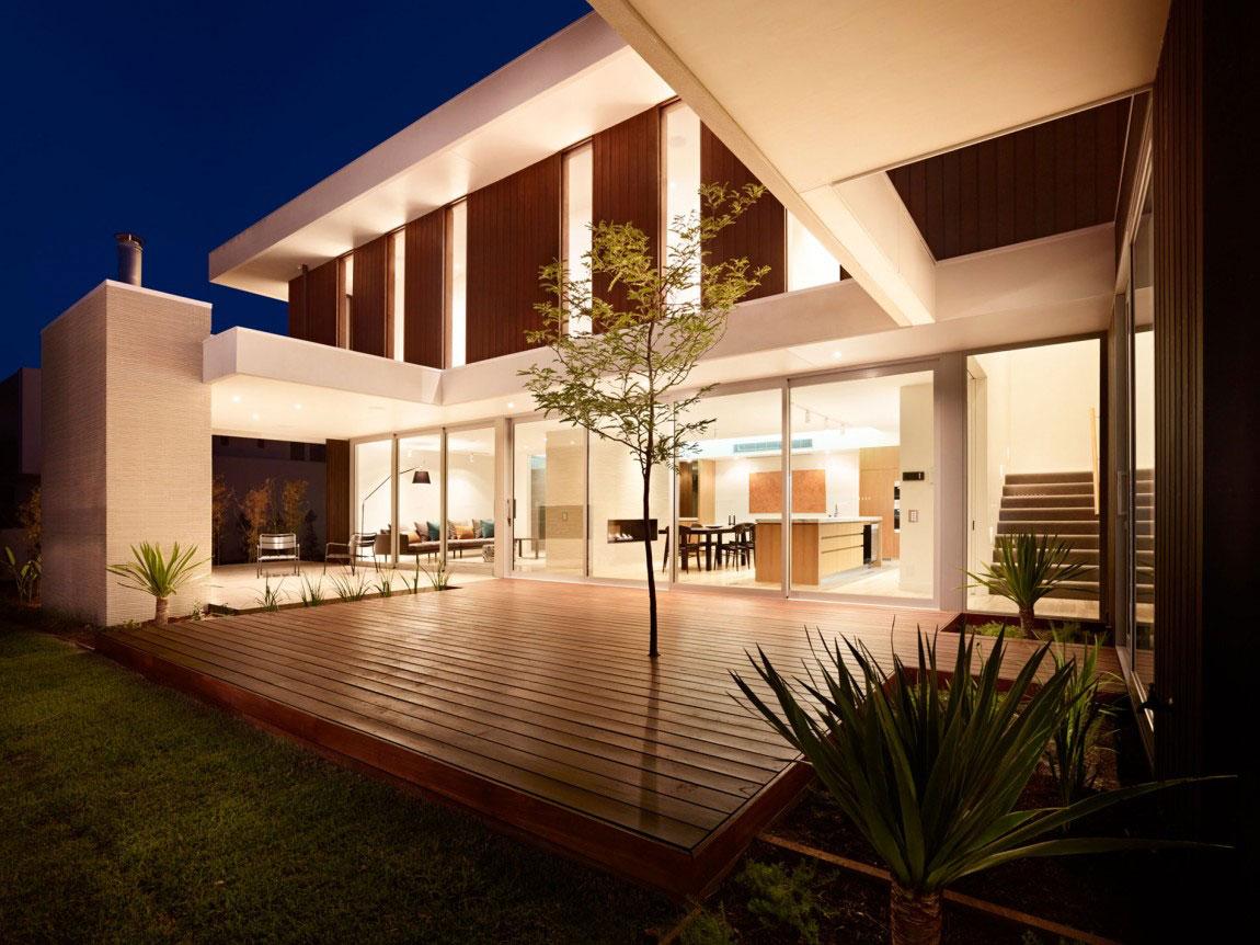 Modernt hus som är vackert-8 Modernt hus som är vackert både ute och inne