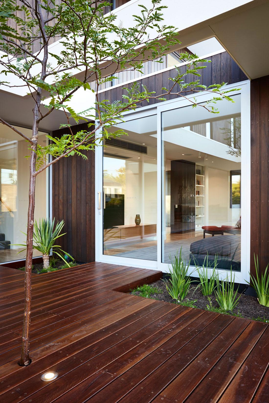 Modernt hus som är vackert-2 Modernt hus som är vackert både ute och inne