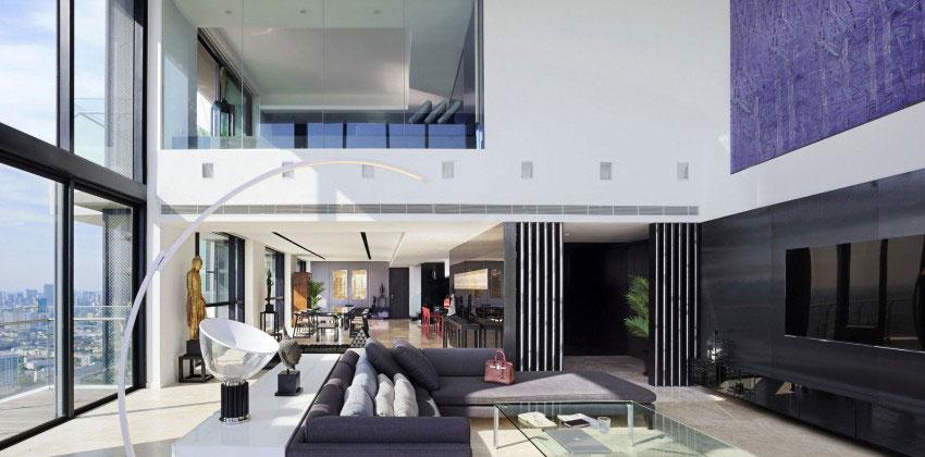Den lyxiga PANO-takvåningen av Ayutt-And-Associates-2 Den lyxiga PANO-takvåningen av Ayutt And Associates