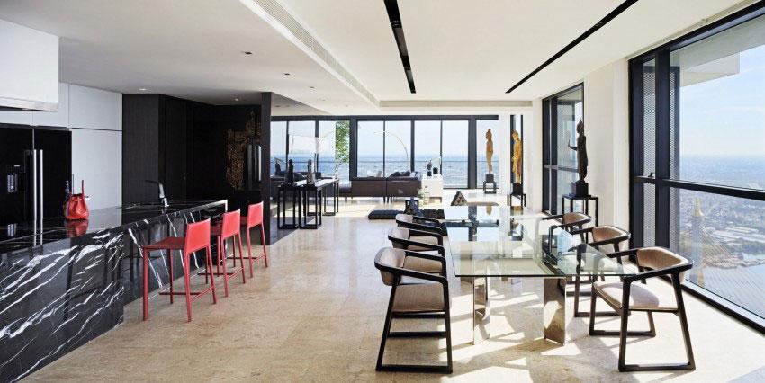 Den lyxiga PANO-takvåningen av Ayutt-And-Associates-4 Den lyxiga PANO-takvåningen av Ayutt And Associates