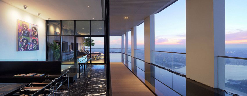 Den lyxiga PANO-takvåningen, designad av Ayutt och anställda 13 Den lyxiga PANO-takvåningen, designad av Ayutt och medarbetare