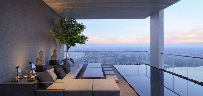 Den lyxiga PANO-takvåningen, designad av Ayutt och hans personal 15 Den lyxiga PANO-takvåningen, designad av Ayutt och hans personal