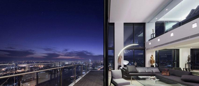 Den lyxiga PANO-takvåningen, designad av Ayutt och hans personal 14 Den lyxiga PANO-takvåningen, designad av Ayutt och hans personal