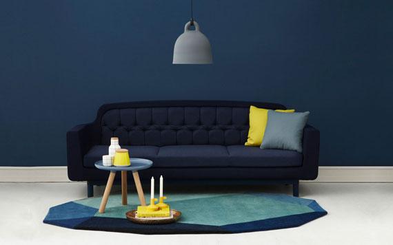 b27 Exempel på vardagsrum inredda i blått