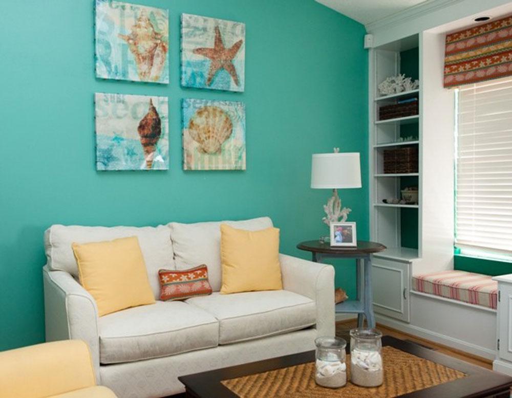 Living-3-by-4-by-Lux-Design-Associates Aqua Color: Hur man dekorerar ditt heminredning med det