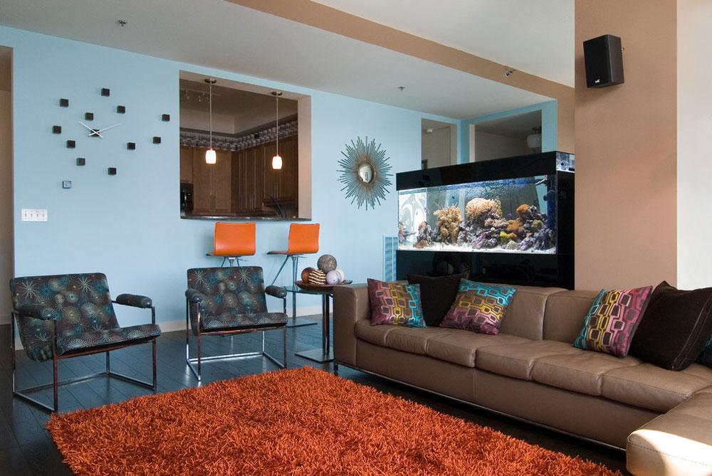Lakeview-Chicago-by-Howard-Group-Design Vattenfärgen: Hur man dekorerar ditt husinteriör med det