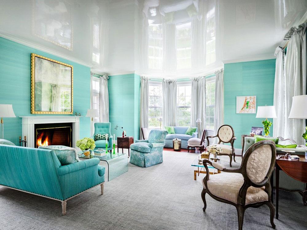 Chesney-Favorite-Spaces-by-Chesneys Aqua-färgen: Hur man dekorerar ditt husinteriör med det