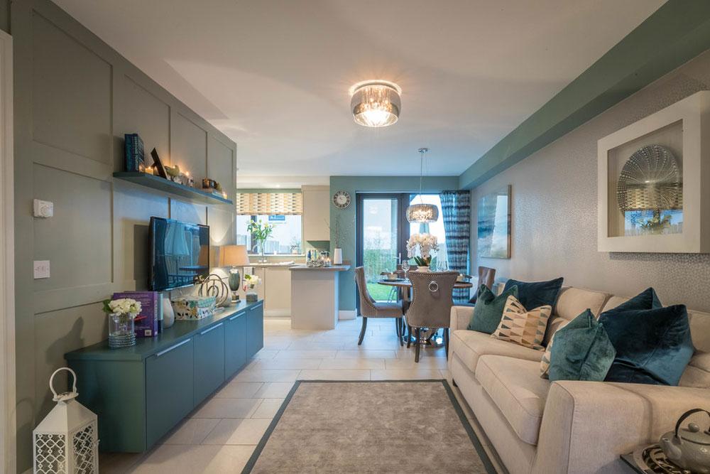 House-by-the-Sea-by-Miriam-Clarke-Interiors Vattenfärgen: Hur man dekorerar ditt husinteriör med det