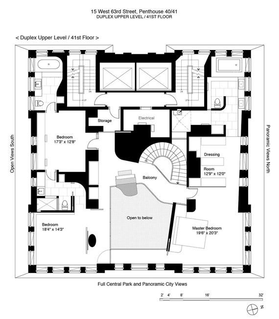 m16 Elegant och modern duplex takvåning i Park Laurel Condominium