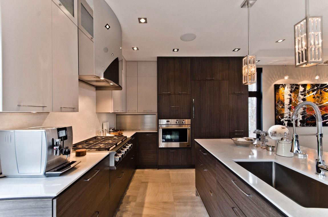 Kanadensiskt hus med modern inredning designad av ActDesign-5 Kanadensiskt hus med modern inredning designad av ActDesign