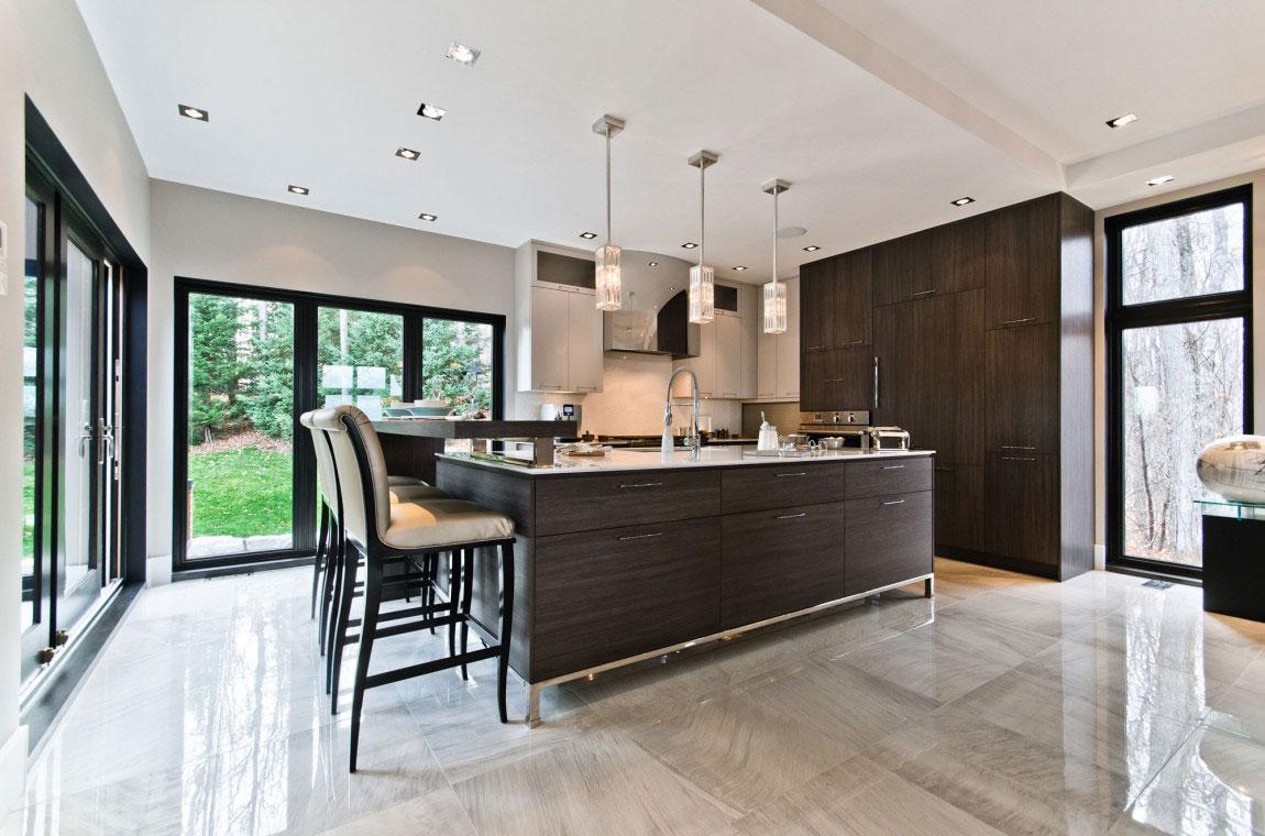 Kanadensiskt hus med modern inredning designad av ActDesign-4 Kanadensiskt hus med modern inredning designad av ActDesign