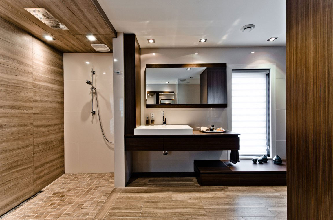 Kanadensiskt hus med modern inredning designad av ActDesign-10 Kanadensiskt hus med modern inredning designad av ActDesign