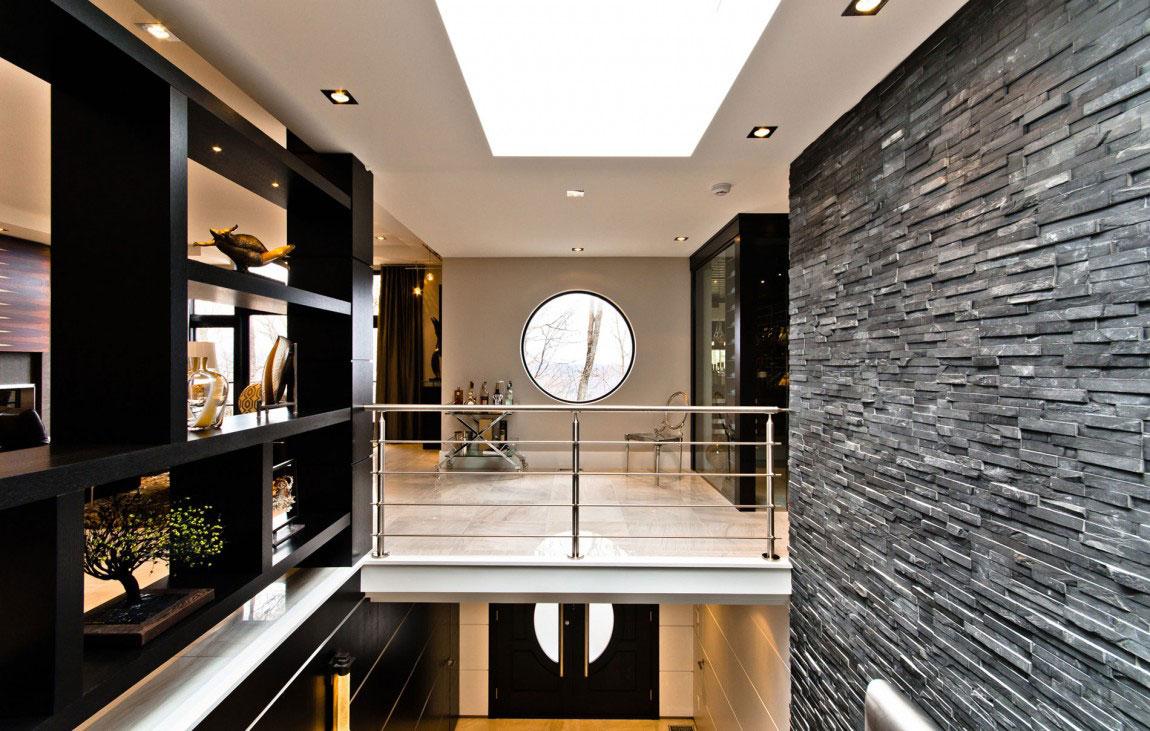 Kanadensiskt hus med modern inredning designat av ActDesign-8 Kanadensiskt hus med modern inredning designat av ActDesign
