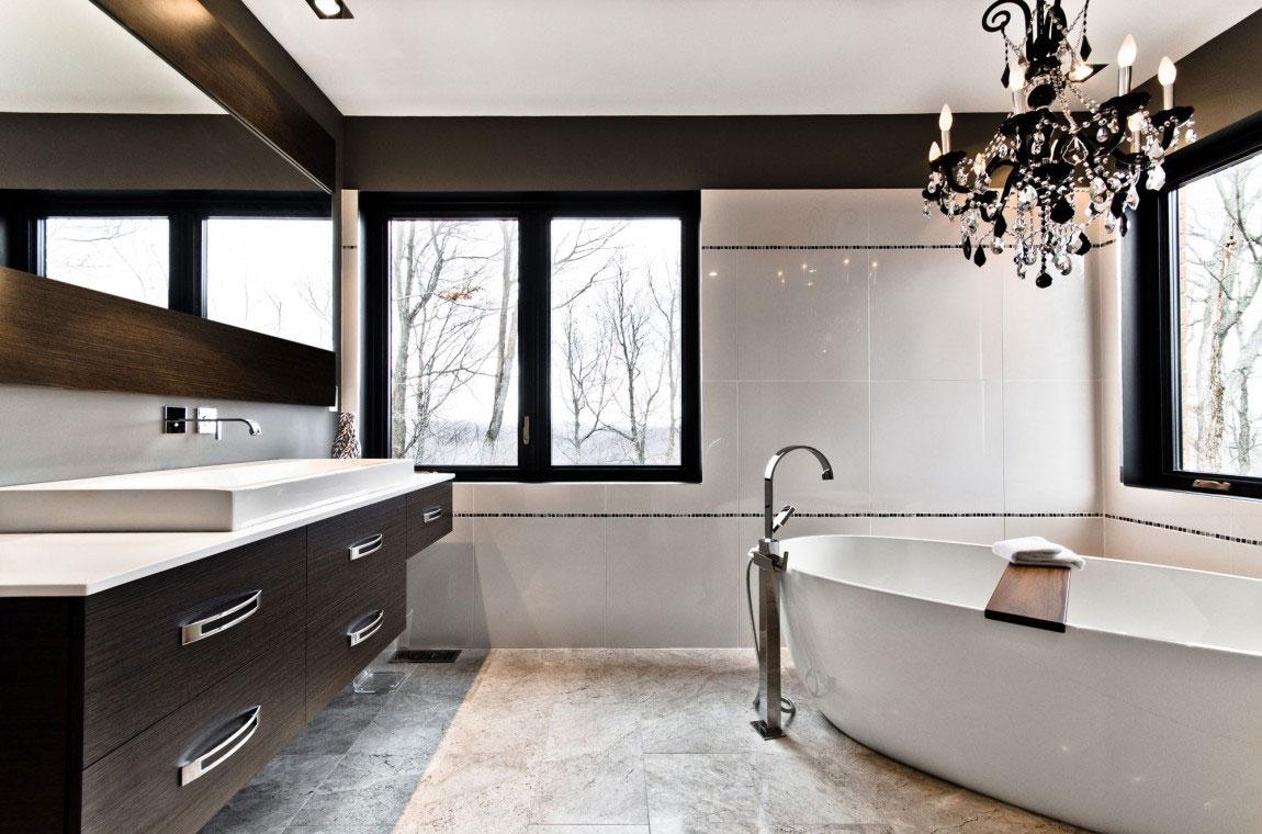 Kanadensiskt hus med modern inredning designad av ActDesign-11 Kanadensiskt hus med modern inredning designad av ActDesign