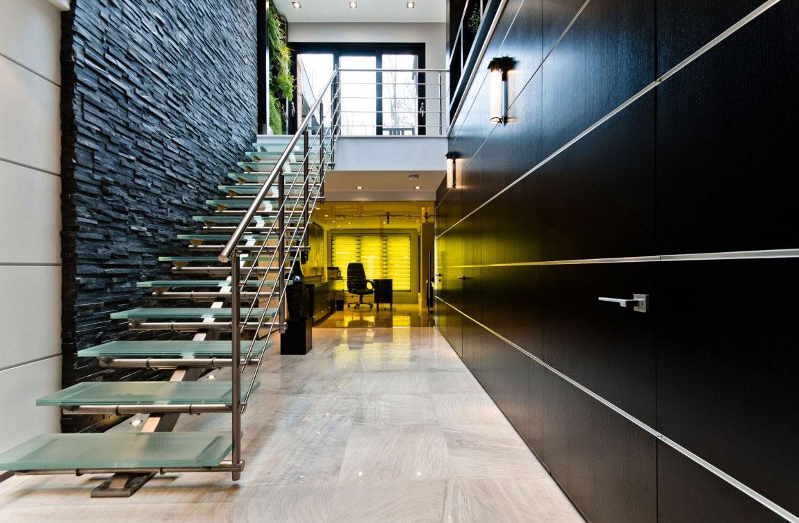 Kanadensiskt hus med modern inredning designad av ActDesign-7 Kanadensiskt hus med modern inredning designad av ActDesign