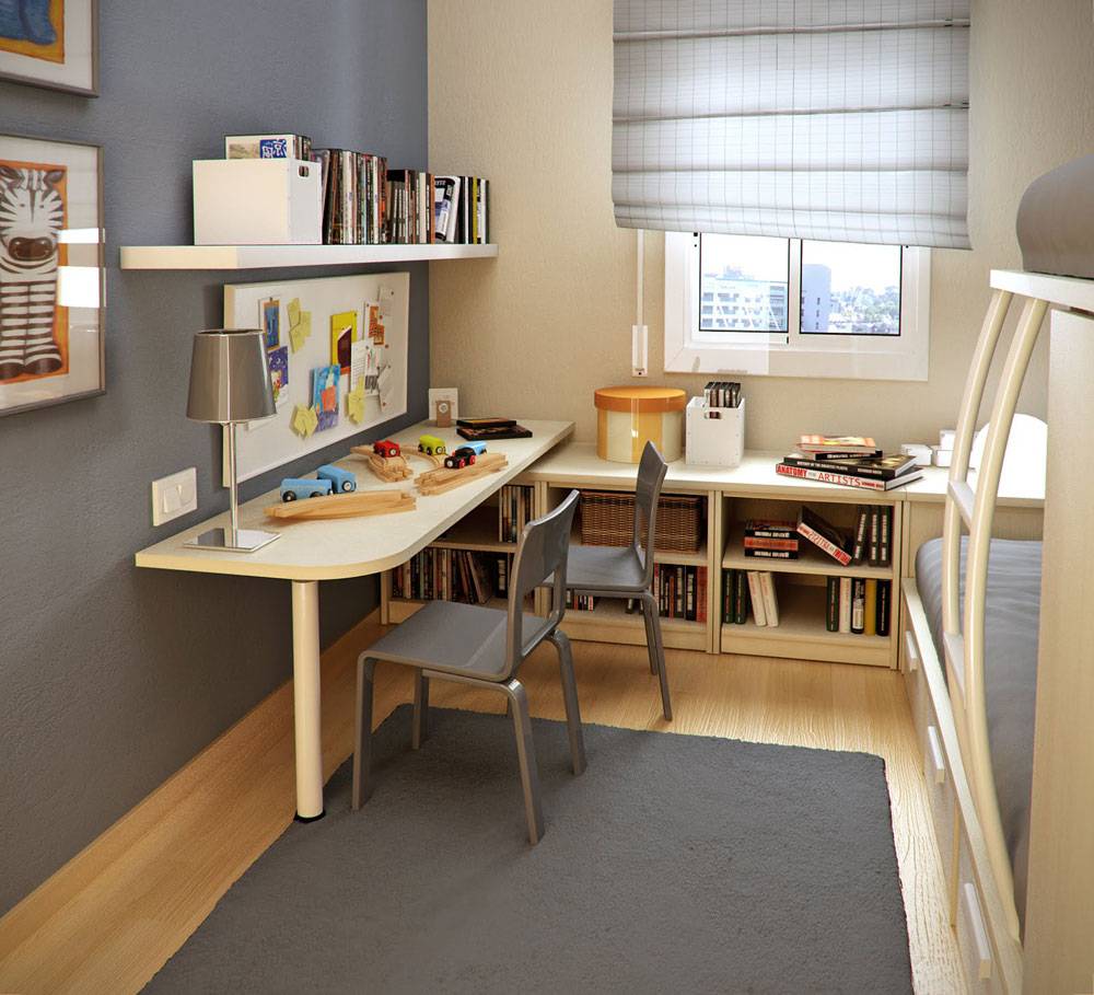 Studierum-design-idéer-för-barn-och-tonåringar-11 studie-rum-design-idéer för barn och tonåringar