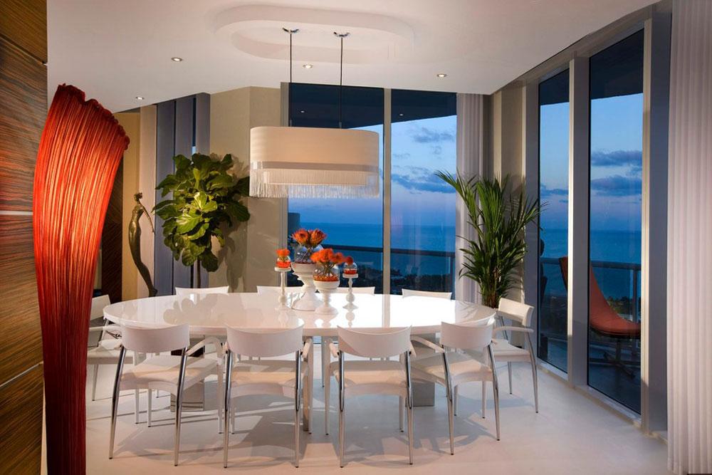Modern-Dining-Room-by-Brittocharette Futuristiska husdesigner: möbler och heminredning