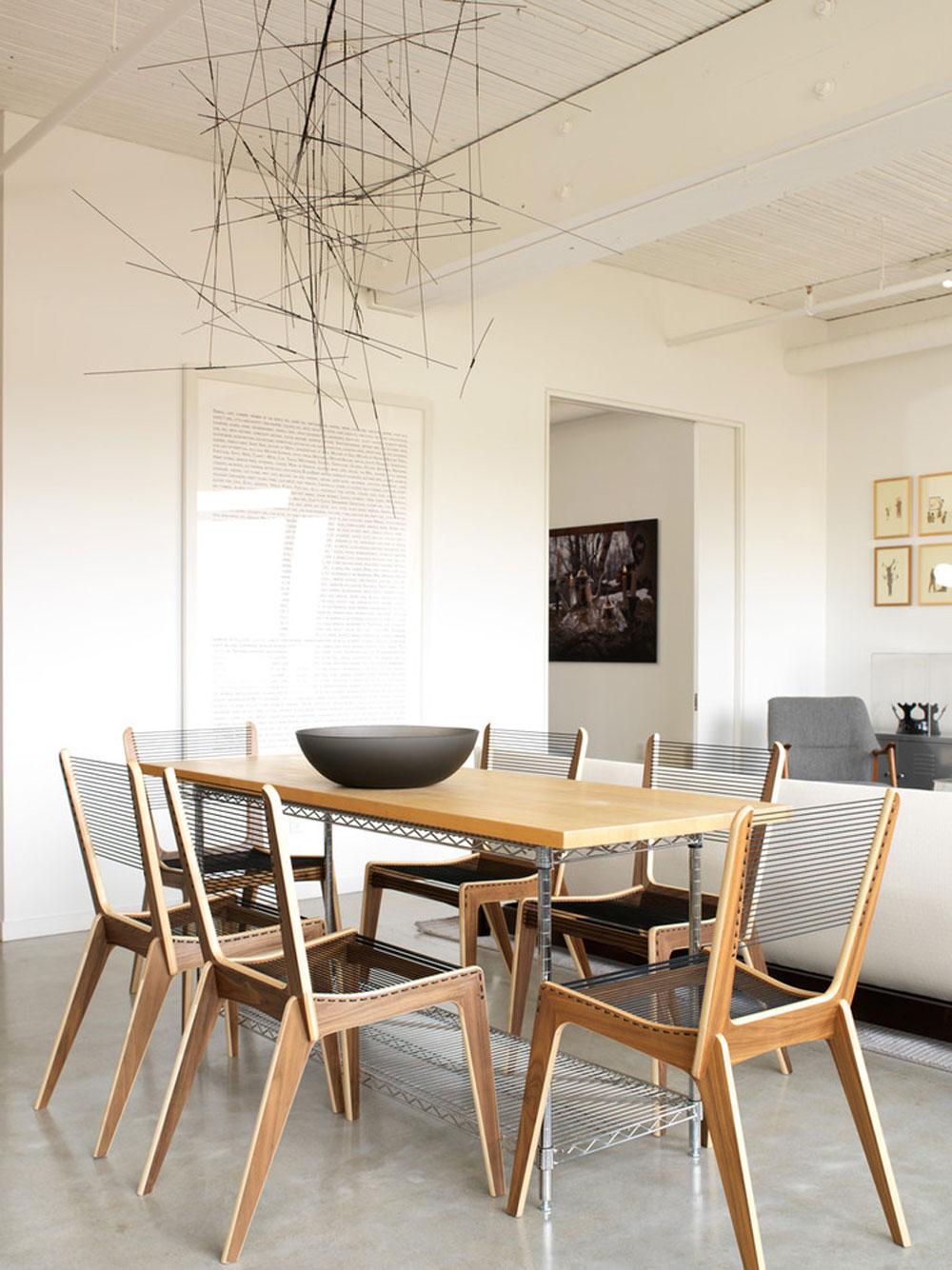 Modern-matsal-av-Croma-Design-Inc Futuristiska husdesigner: möbler och heminredning