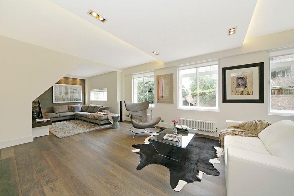 Private-House-London-by-Squared-Interiors-LTD Minimalistiska vardagsrumsidéer att använda i ditt hem
