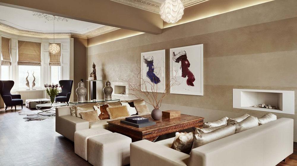 Kensington-House-by-Callender-Howorth Minimalistiska vardagsrumsidéer att tillämpa på ditt hem