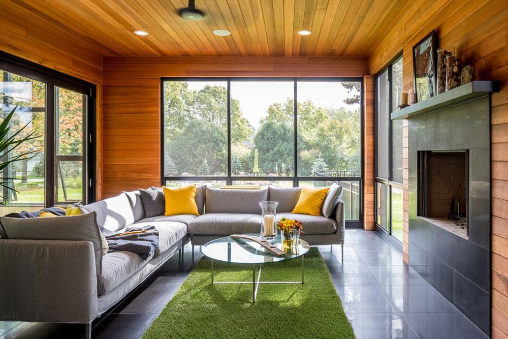 Modern-New-Home-Ground-Up-by-Heritage-Building Company-LLC Minimalistiska vardagsrumsidéer att applicera på ditt hem