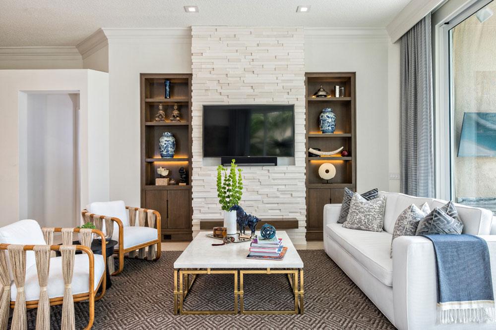 Delray-Beach-Residence-by-Hubley-Design-Interiors-LLC Minimalistiska vardagsrumsidéer att applicera på ditt hem