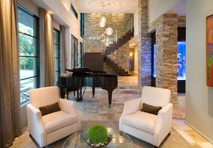 76873062811 Nytt modernt hem av Phil Kean Designs med vacker inredning