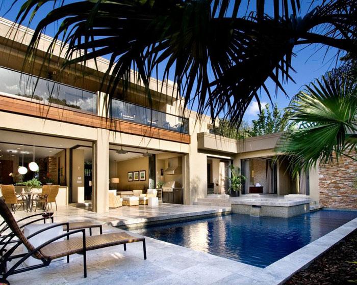 76873001630 Nytt modernt hem av Phil Kean Designs med vacker inredning