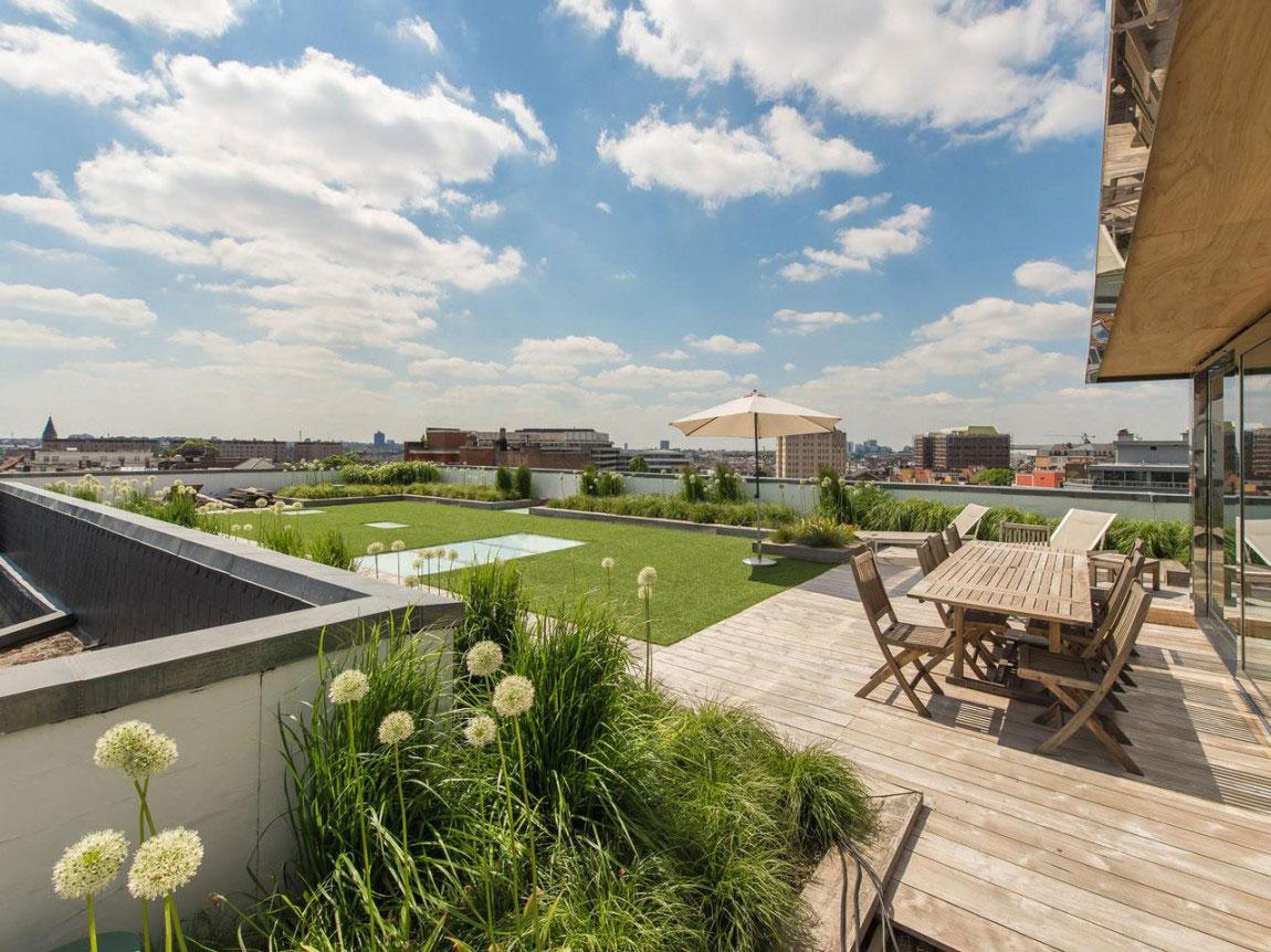 Elegant lägenhet med fantastisk utsikt över Bryssel-2 Elegant lägenhet med fantastisk utsikt över Bryssel