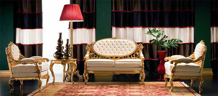 65797084040 Den klassiska och eleganta stilen i viktorianska vardagsrum