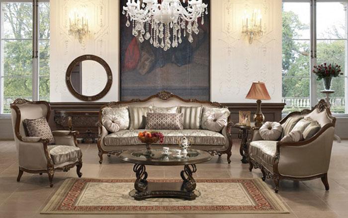65797101994 Den klassiska och eleganta stilen i viktorianska vardagsrum
