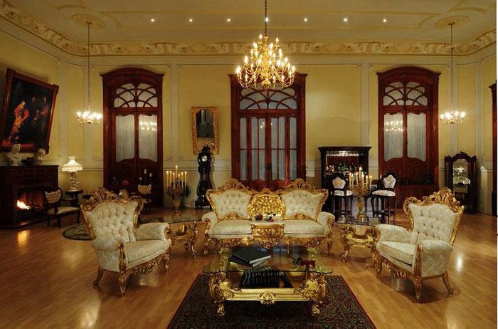 65796778743 Den klassiska och eleganta stilen i viktorianska vardagsrum