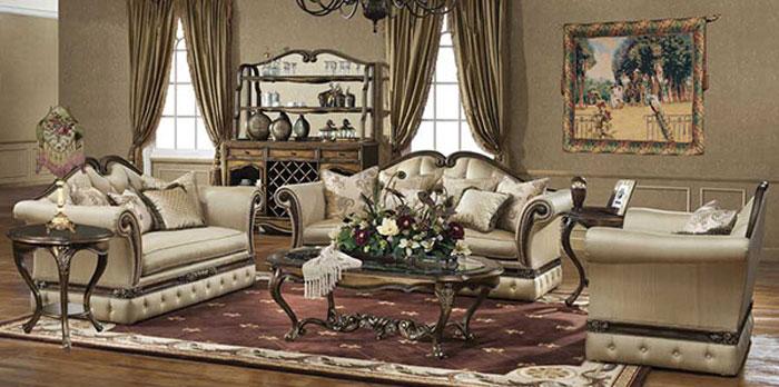 65797115846 Den klassiska och eleganta stilen i viktorianska vardagsrum