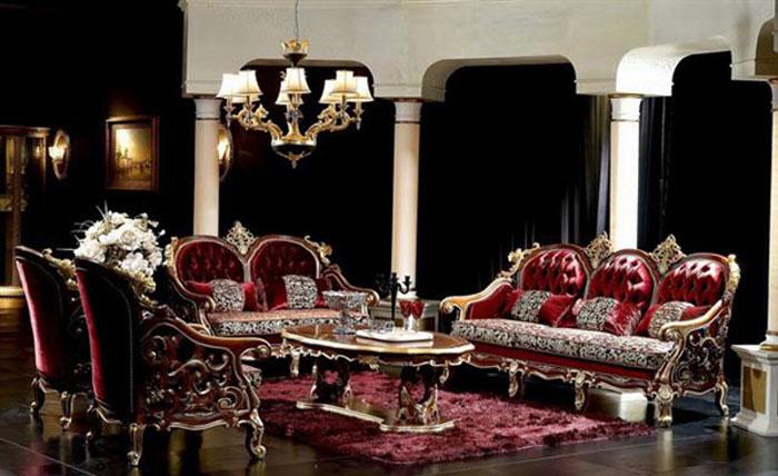 65797136757 Den klassiska och eleganta stilen i viktorianska vardagsrum