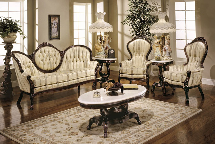 65796821765 Den klassiska och eleganta stilen i viktorianska vardagsrum