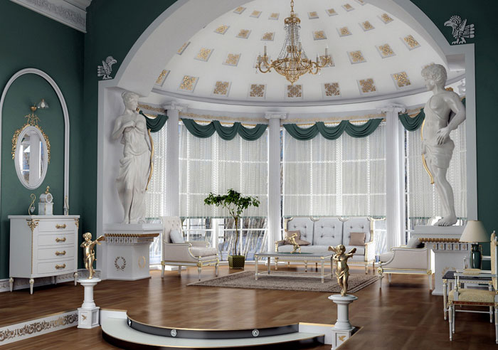 65796852324 Den klassiska och eleganta stilen i viktorianska vardagsrum
