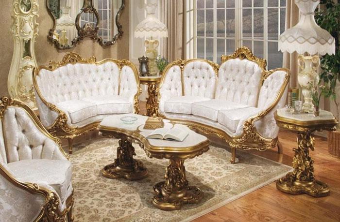 65796964868 Den klassiska och eleganta stilen i viktorianska vardagsrum