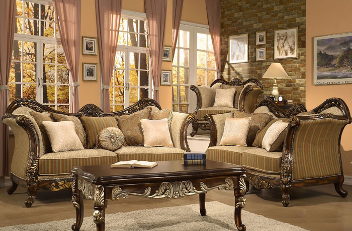 65796877202 Den klassiska och eleganta stilen i viktorianska vardagsrum