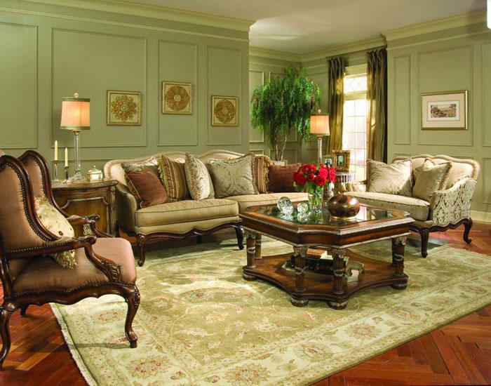 65796904427 Den klassiska och eleganta stilen i viktorianska vardagsrum