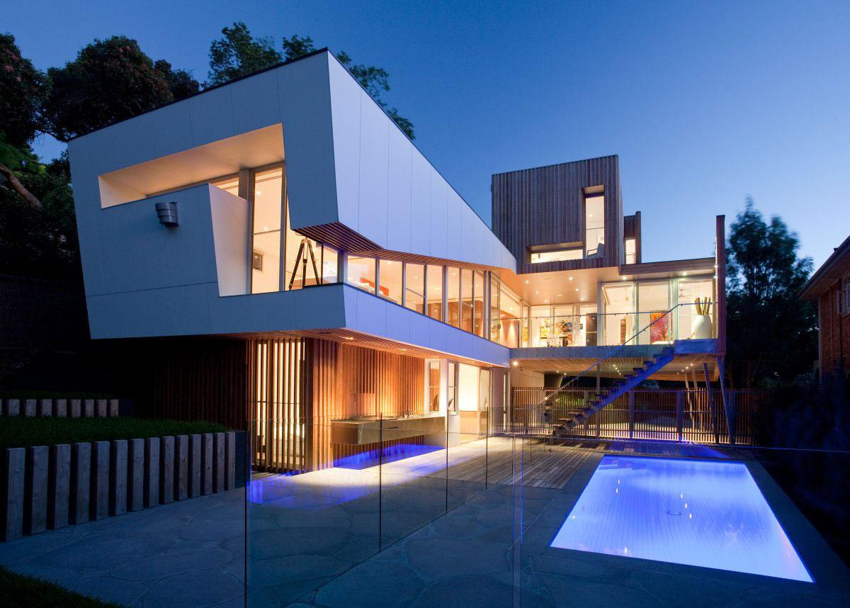 The-Kew-House-3-by-Vibe-Design-Group australisk arkitektur och några vackra hus för att inspirera dig