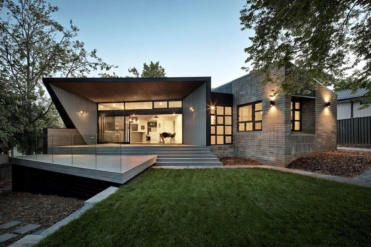 Narrabundah-House-by-Adam-Dettrick-Architects Australisk arkitektur och några vackra hus för att inspirera dig