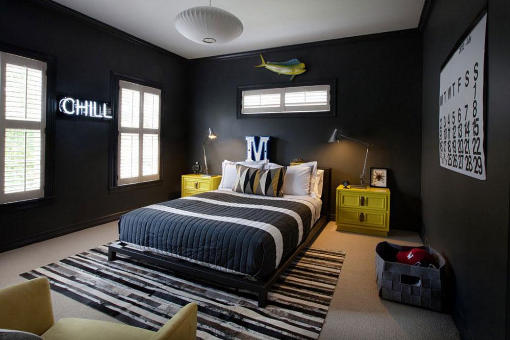 Att dekorera en tonårspojks rum ska vara lätt med denna typ av inspiration 7 Att dekorera ett tonårsrum ska vara enkelt med denna typ av inspiration