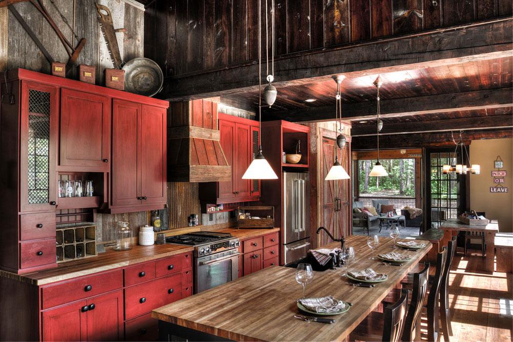 Wynne-Lake-by-Lands-End-Development-Designer-Builde Red Kitchen Design: Idéer, väggar och dekor