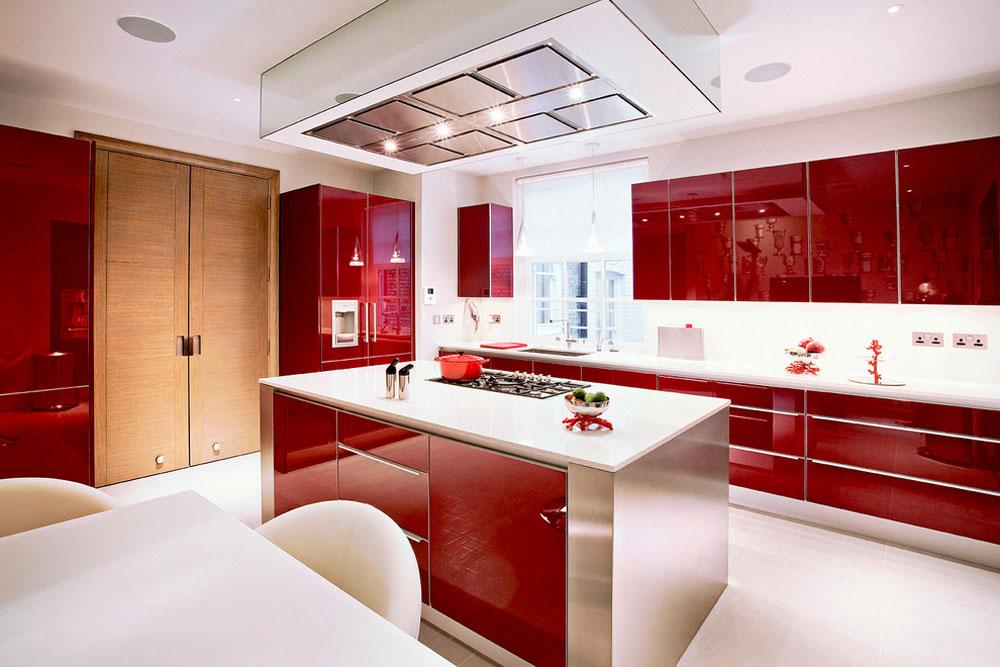 Palace-Court-Kitchen-by-Roselind-Wilson-Design Rött köksdesign: idéer, väggar och dekor