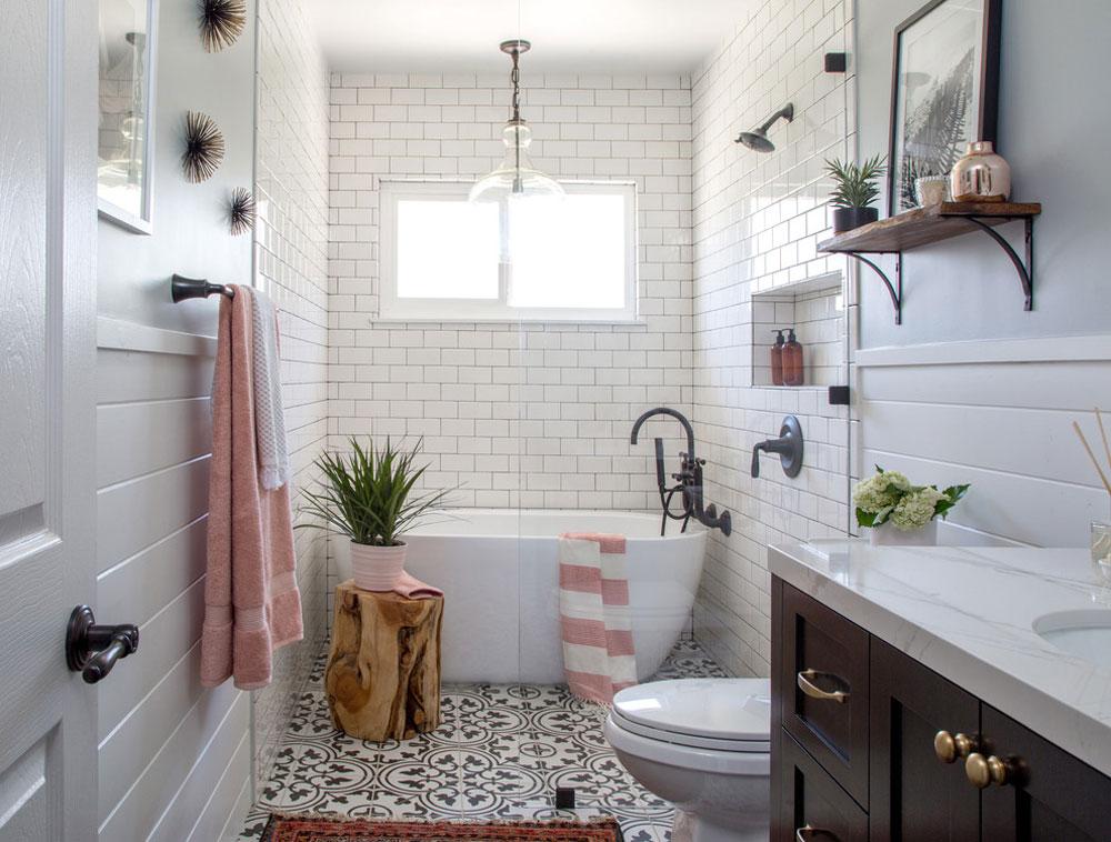 HGTV-badrum-by-Soko-inredning-design-bondgård-badrum: dekor, idéer, belysning och stil