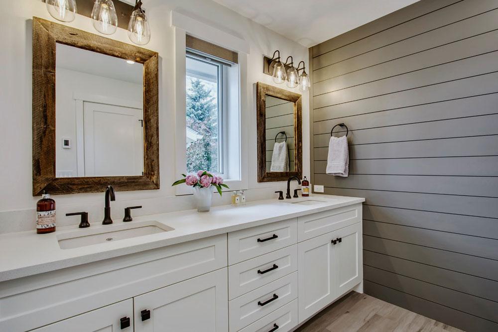 Lake-Bonavista-Knight-Custom-Homes-by-Zoon-Immobilien-Media Farmhouse-badrum: dekor, idéer, belysning och stil
