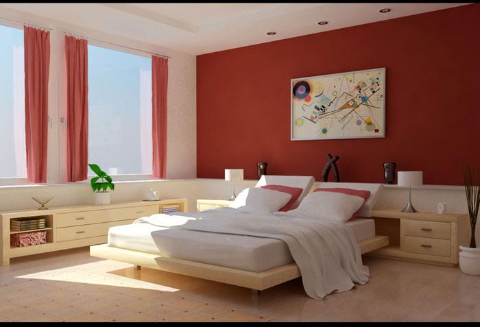 68962305653 Idéer för att dekorera ditt sovrum med rött, vitt och svart